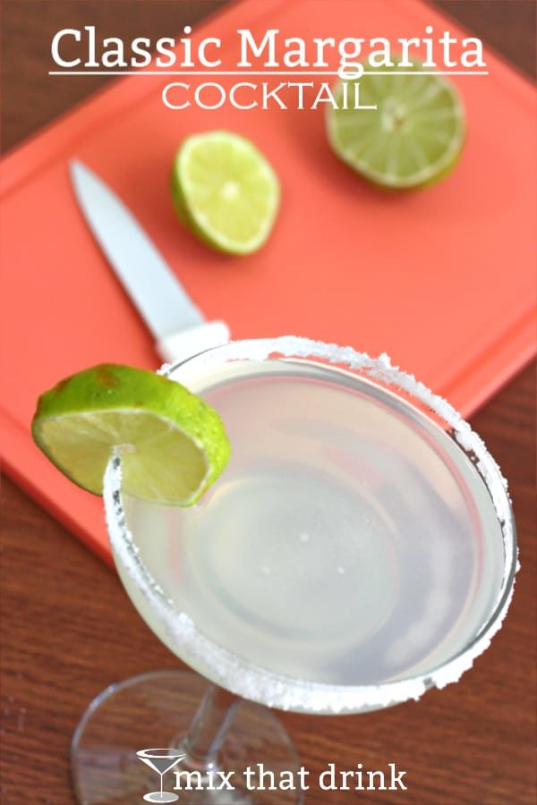 The timeless classic margarita recipe is incredibly simple, and it tastes wonderful. It's a classic because lime, tequila and orange never get old.