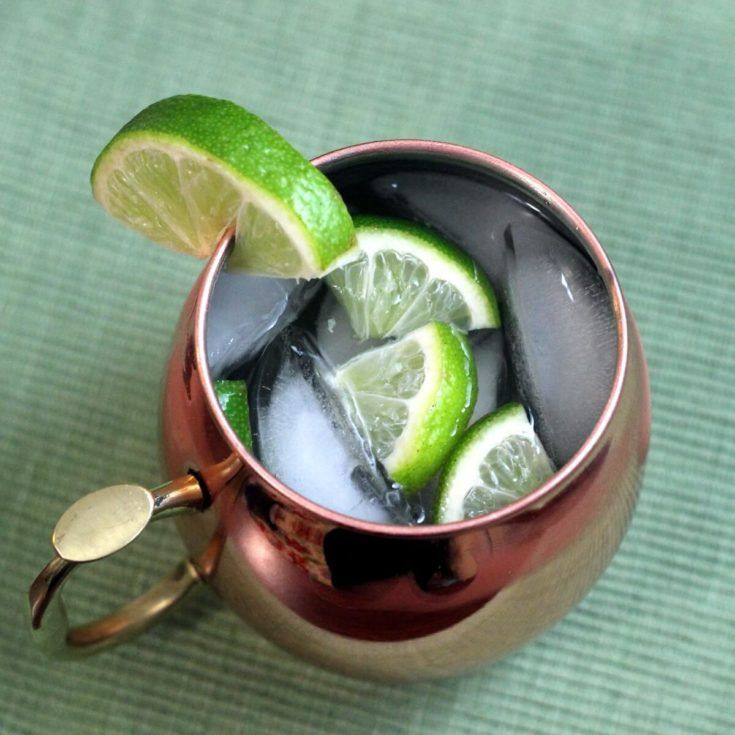 Moscow Mule classic cocktail