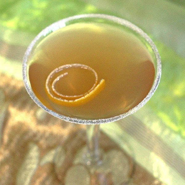 The brandy based Sidecar cocktail probably dates back to the end of World War II. It's a refreshing citrus drink, featuring orange liqueur and lemon juice. It's lovely for after dinner or for a night out.