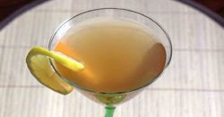 The Deauville Cocktail is an applejack or Calvados drink that dates back to 1930 and originated in New Orleans. It's very simple to make, and works well for a pitcher of pre-mixed drinks at a party.