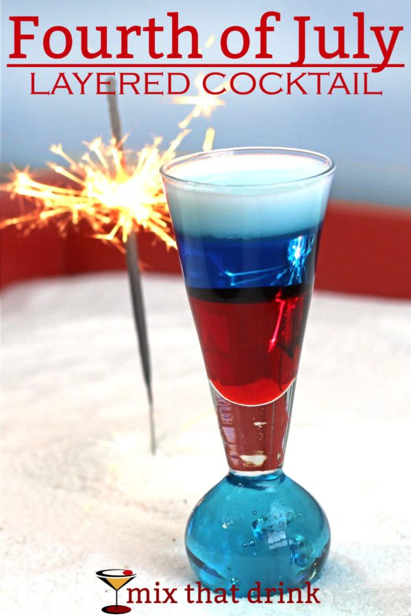 Fourth of july cocktail mix that drink for Fun cocktails with vodka