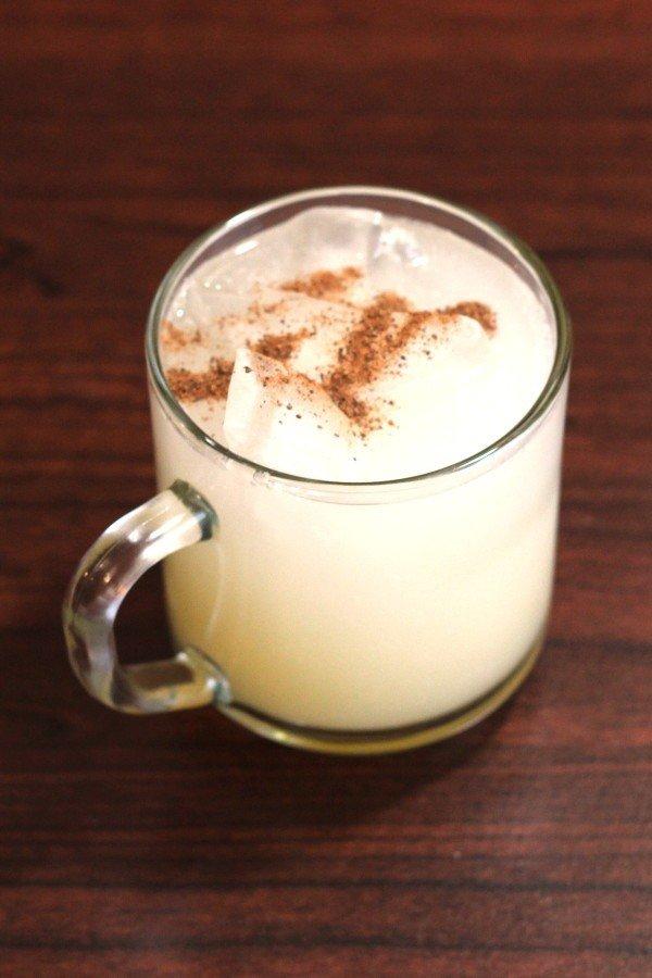 Painkiller drink recipe: Navy Rum, Coconut, Orange, Pineapple, Nutmeg