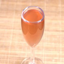 Bellini drink recipe: white peach puree, prosecco... and also an alternative when fresh peaches aren't available