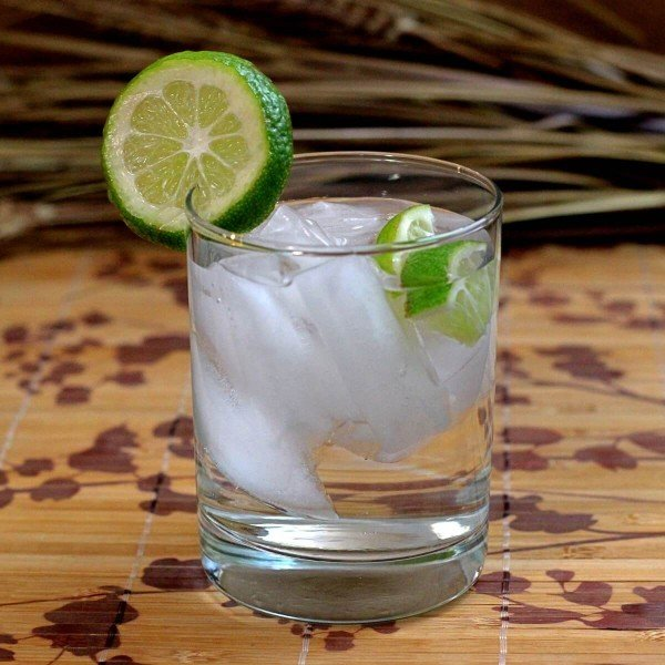 The Caipirinha is considered the national cocktail of Brazil, and for good reason. It's made from their most popular distilled spirit - a very strong rum called Cachaca - with muddled limes and sugar.