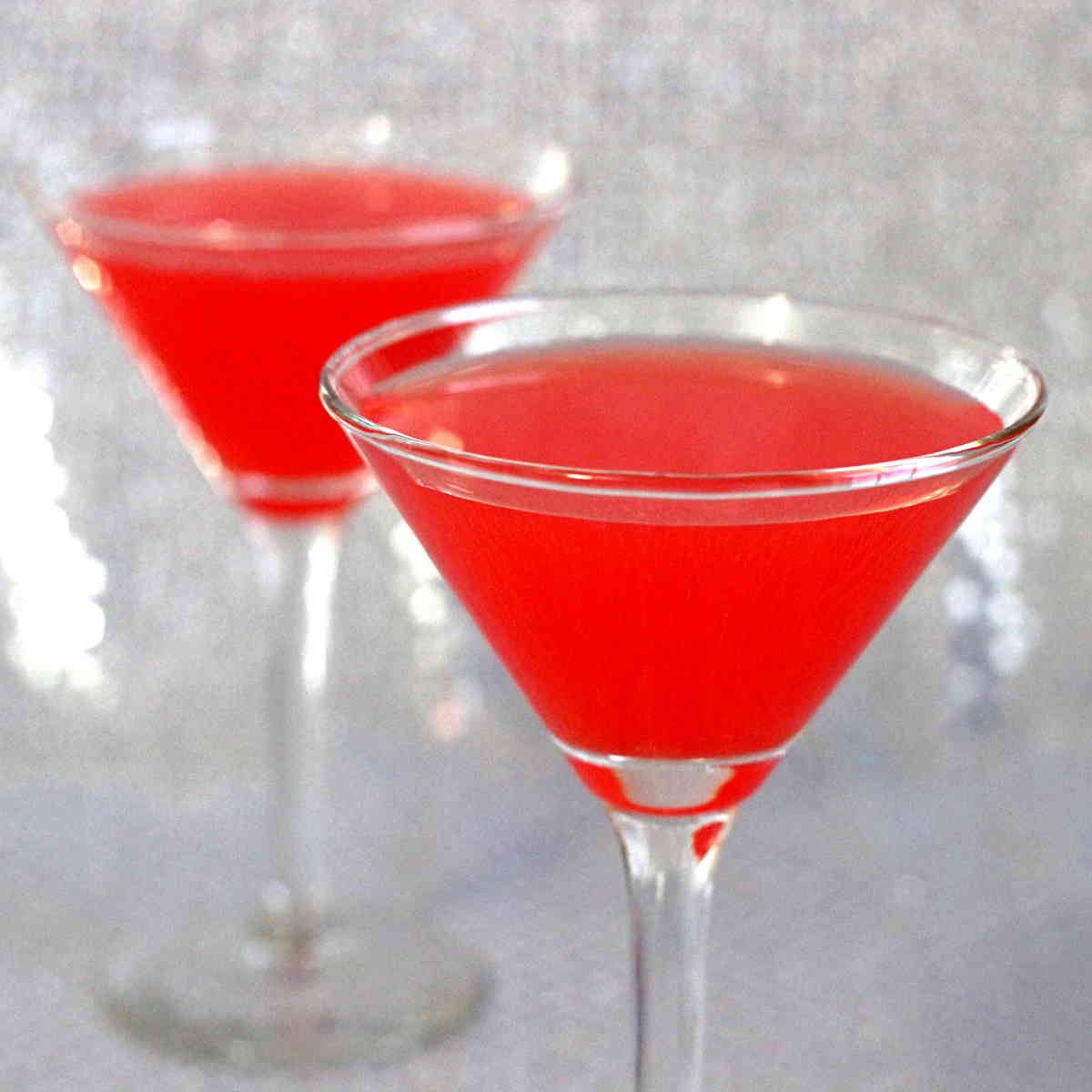 Pomegranate Martini cocktail recipe