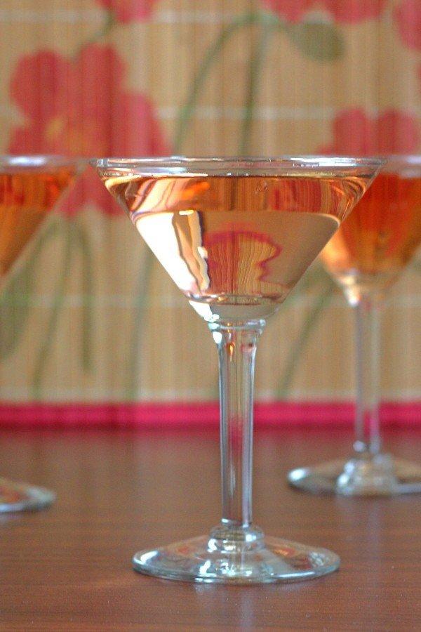 Raquet Club cocktail recipe: gin, vermouth, orange bitters