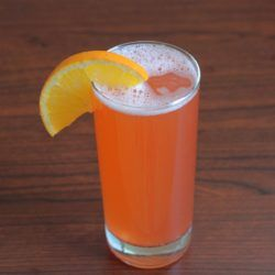 South Beach cocktail recipe: Campari, Amaretto, Orange Juice