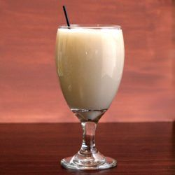 Hazel's Wonder drink recipe: shelled hazelnuts, Kahlua, Bailey's, cream