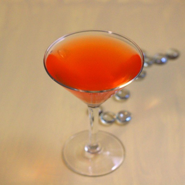 Marble Hill drink recipe: Dubonnet, orange juice, gin