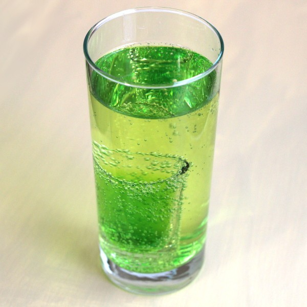 Mountain Dew drink recipe: Midori, vodka, beer, 7-up
