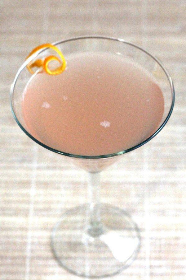 Ten Strike cocktail recipe: Pernod, gin, orange bitters