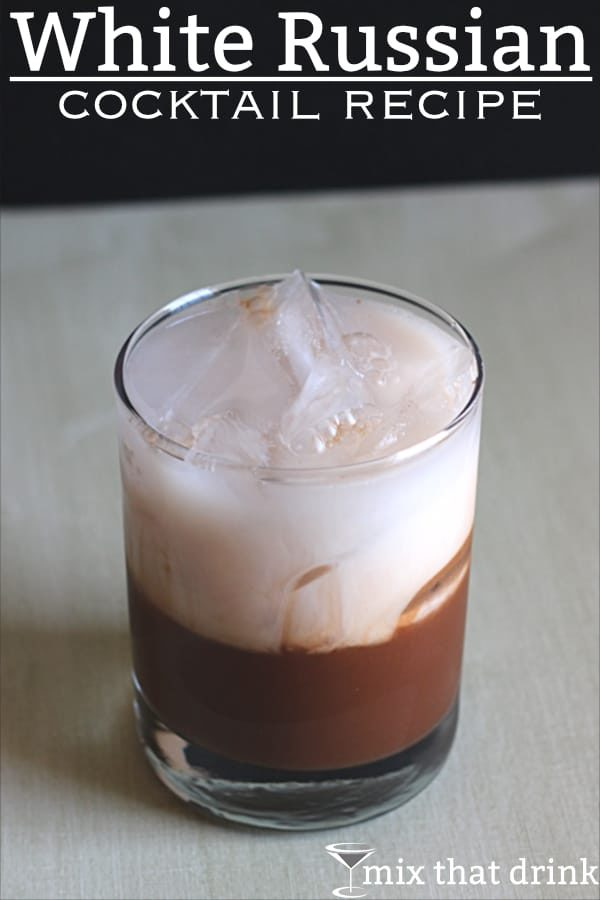 The White Russian is a delicious, creamy treat of a drink. It tastes like a chocolate mocha with cream, so what's not to like?#cocktailrecipe #drinking #drinkrecipes #cocktails