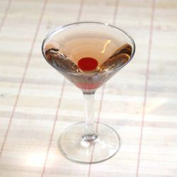 Honolulu Lulu cocktail recipe with Benedictine, gin and maraschino liqueur.