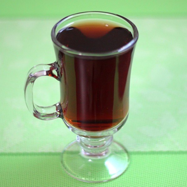 Palomino drink in glass coffee mug