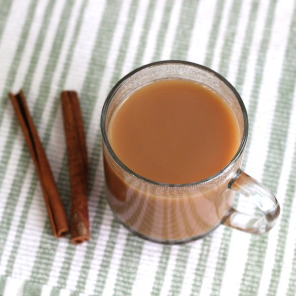 Tea Toddy drink recipe: Earl Grey tea, sugar, Carolan's, Scotch