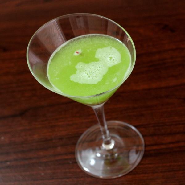 El Cid Cocktail Recipe: Midori, Gin, Rose's Lime, Orange Juice
