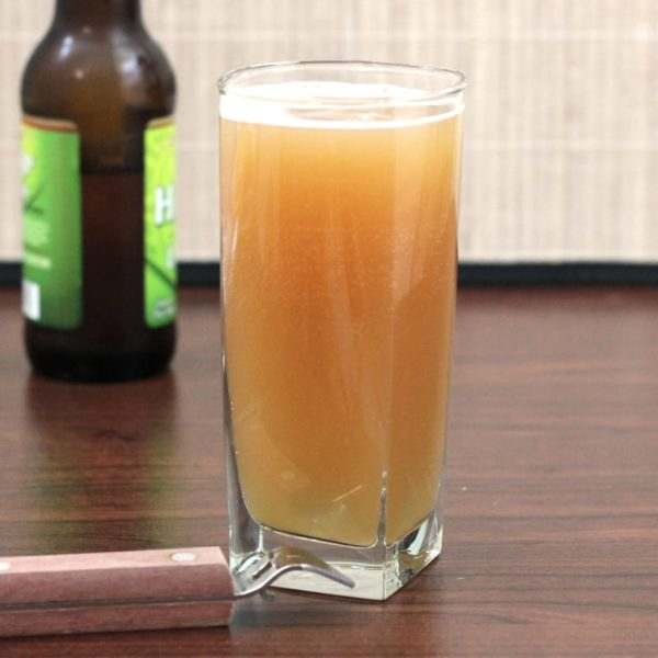 The Lunchbox cocktail is designed for chugging. It's beer-based and very simple, and you can make it in big batches. #mixthatdrink #beercocktails #drinks #happyhour