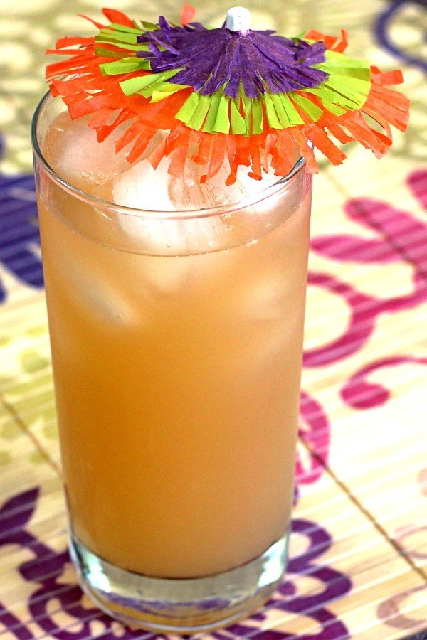 Hairy Jerry drink recipe: rum meets papaya juice.