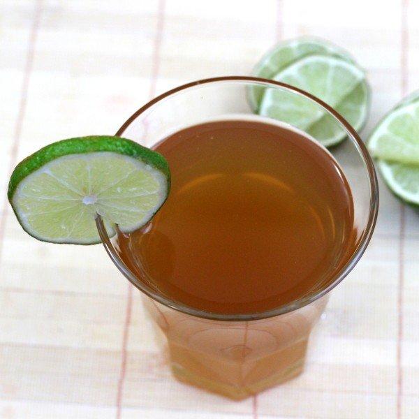 Ankle Breaker drink recipe: 151 proof rum, cherry brandy, lime juice