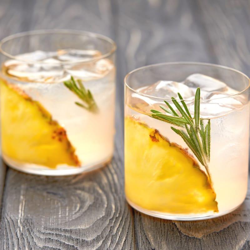 Coconut Pineapple Martini