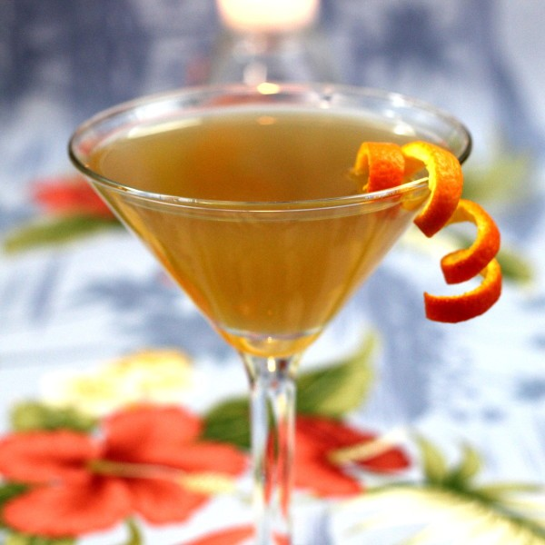 Jamaica Glow drink recipe: Jamaican Rum, Gin, Claret, Orange Juice