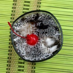 Joe Collins drink recipe: Scotch, Coke, Lemon Juice, Simple Syrup
