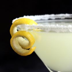 The Lemon Drop Martini is an well-loved classic. It's sweet and tangy enough to hide the alcohol, and actually tastes very much like lemon drop candy. It's a great choice for occasional drinkers.