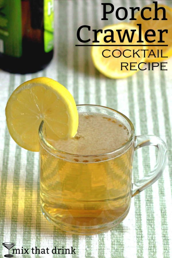 The Porch Crawler recipe features beer, lemonade and vodka. It's a big batch recipe, which makes it perfect for a party. It's worth it to use a good beer for this cocktail, since that will be what you taste most.