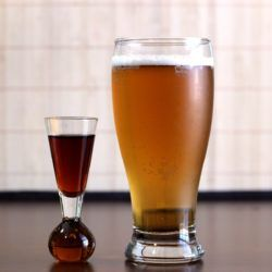 Boilermaker recipe: Beer with whiskey, tequila or vodka