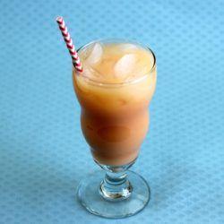 Captain Creamsicle drink recipe: Captain Morgan's Spiced Rum, Vanilla Ice Cream, Orange Sherbet