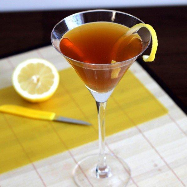 Hennessy Martini recipe: Hennessy cognac, lemon Juice