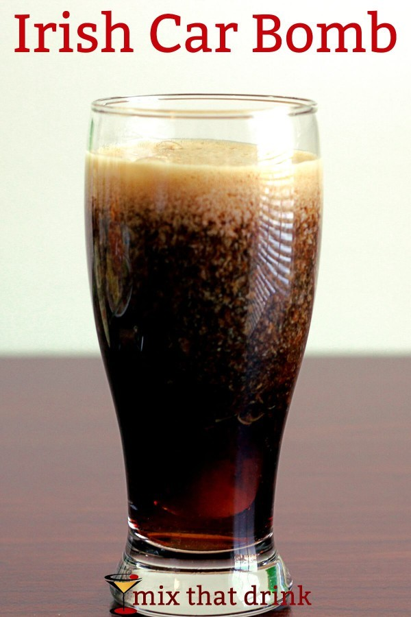 Irish car bomb drink recipe mix that drink for Mixed drink with jameson
