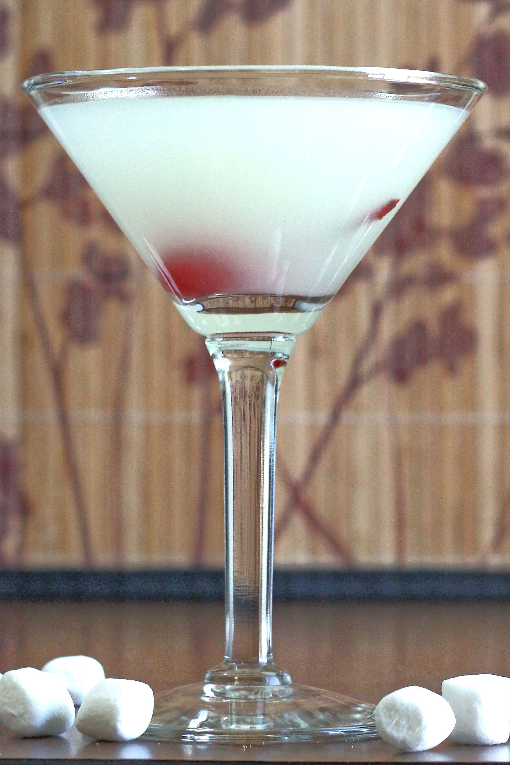 Marshmallow Vodka Cocktail