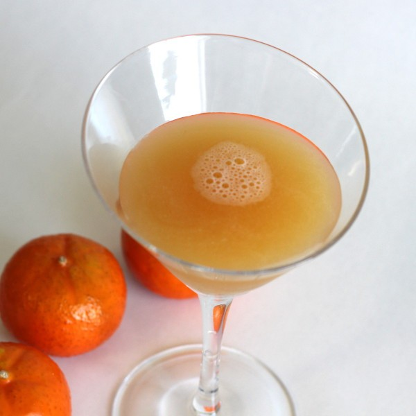 Satan's Whiskers drink recipe: Vermouth, Gin, Grand Marnier, Triple Sec, Orange Juice
