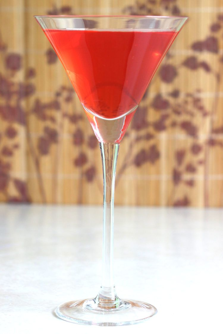 Centauri Sundown drink recipe with vodka, grenadine and sour mix.