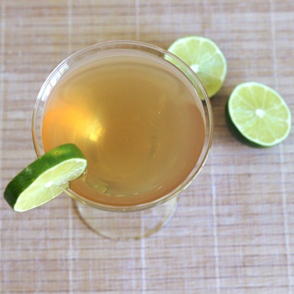 Embassy Cocktail recipe with brandy, Jamaican rum, Cointreau, lime and Angostura bitters