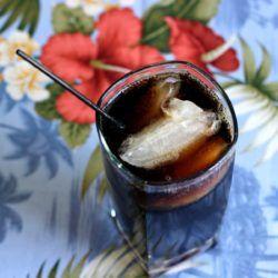 The Bacardi Root Beer Float recipe blends Bicardi Vanil Rum with root beer.