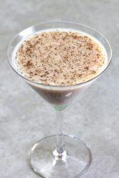 Almond Grove cocktail sprinkled with nutmeg