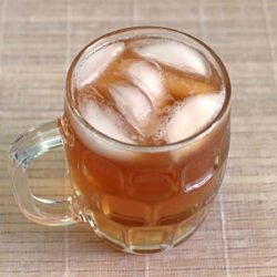 Cemetery Cider is, as you might guess, an apple cider-based drink recipe. It features Jim Beam, Captain Morgan's and Bacardi. Where it differs from many similar recipes is that you can make it by the glass instead of in bulk.