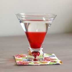 Betty Paige drink recipe with cherry liqueur, dry vermouth and gin.