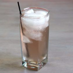 Even Pair drink recipe with pear liqueur, gin, vermouth and tonic water.