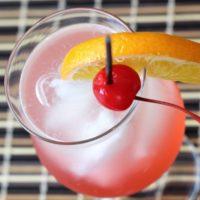 Cherry Vodka Sour Drink Recipe
