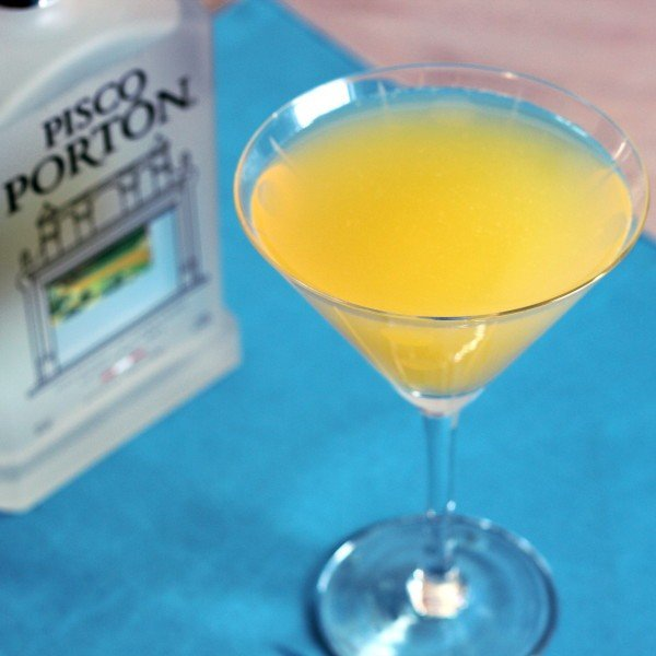 Eden Cocktail Recipe with Pisco Brandy, apricot brandy, Mandarin and lime juices.