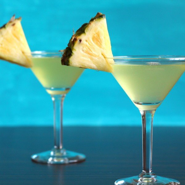Barbados Cocktail drink recipe: pineapple, rum, triple sec