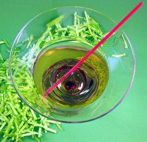 Cake Mix drink recipe - Vanilla Vodka and Ginger Ale