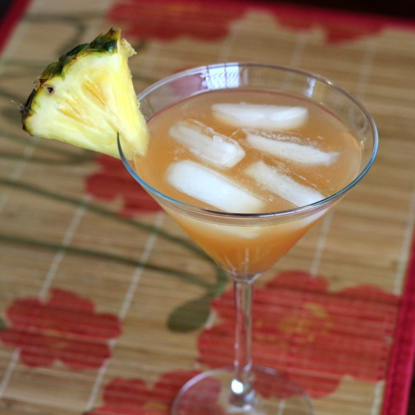 Hawaiian Tattoo drink recipe: Captain Morgan Tattoo, Coconut Rum, Pineapple Juice