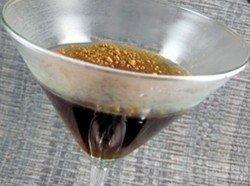 Black and White Martini recipe - Vanilla Vodka, Creme de Cacao