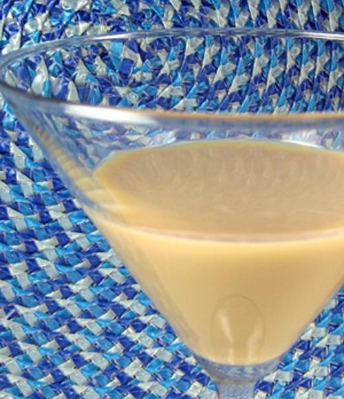 Butter Chocolate Bliss drink recipe - Kahlua, Butterscotch Schnapps, Chilled Milk