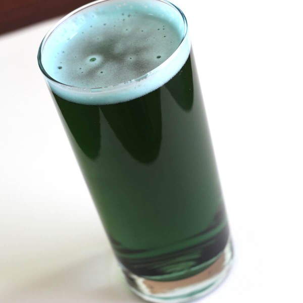 To make the perfect green beer for St. Patrick's Day, I captured a leprechaun. At first, it refused to tell me the recipe. It even offered to take me to its pot of gold instead. But I got the goods.