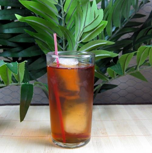 Iced Velvet drink recipe - Black Velvet and Iced Tea